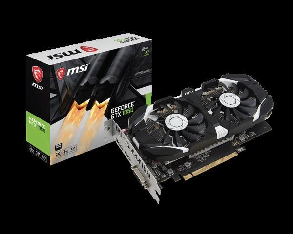 GTX1050 MSI (DY FANE) NEW BOX SUPER OKAZION 150 EU